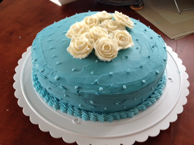 Cake Decorating Butter Icing : Birthday Cake Design With Icing ~ Image Inspiration of ...